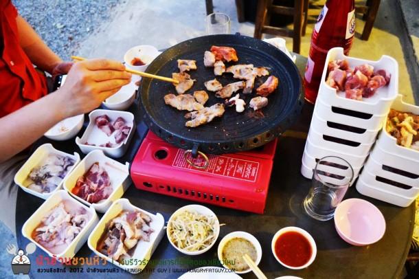 กินเนื้อย่างเกาหลี๊ เกาหลี ที่เมียงดง Korean BBQ