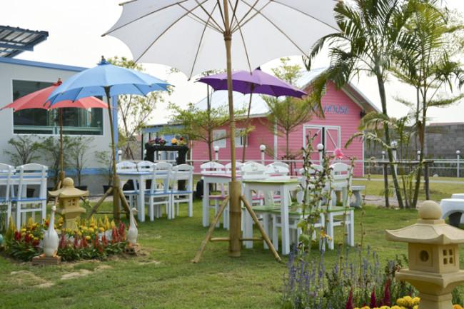 Charming Farm สันทราย ร้านอาหารอร่อยๆ ของคนรักน้องแกะ