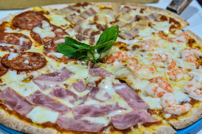 พิซซ่าถูกปากคนไทย หน้าตาอินเตอร์แบบฝรั่งที่ Pizza Giardino