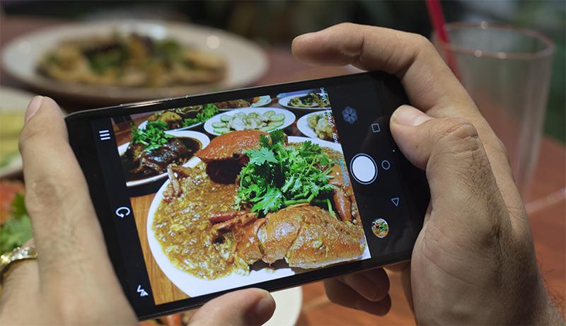 อาหารโดนใจ ภาพใสปิ๊งด้วย Huawei G7 Plus สมาร์ทโฟนที่เอาใจขากินโดยเฉพาะ