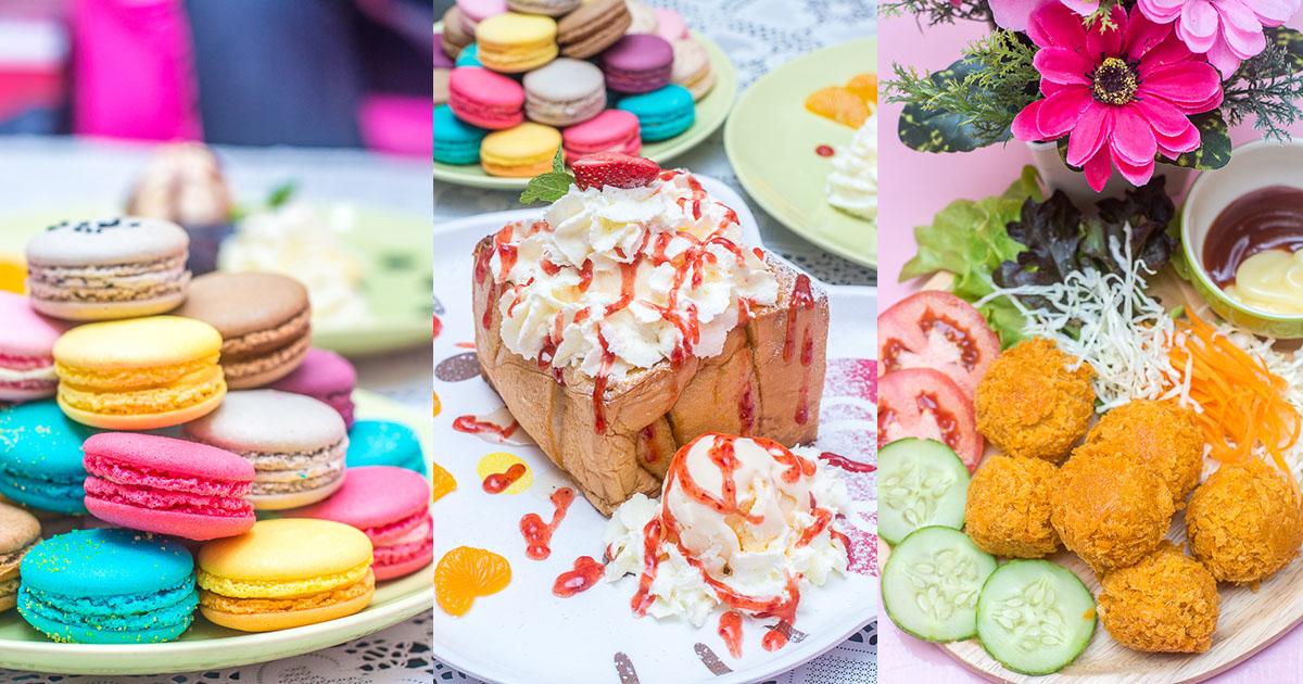 ย้อนวัยไปอดีต กับคาเฟ่แสนน่ารักที่คนรัก Hello Kitty จะต้องร้องกรี๊ด กับ Le Macaron Tea Cafe เชียงใหม่