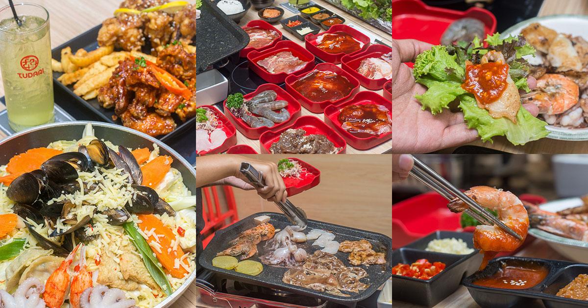 อยากเต็มอิ่ม TUDARI จัดให้กับบุฟเฟ่ต์เนื้อย่างสไตล์เกาหลี กินไม่อิ่ม ไม่หยุดเสิร์ฟ