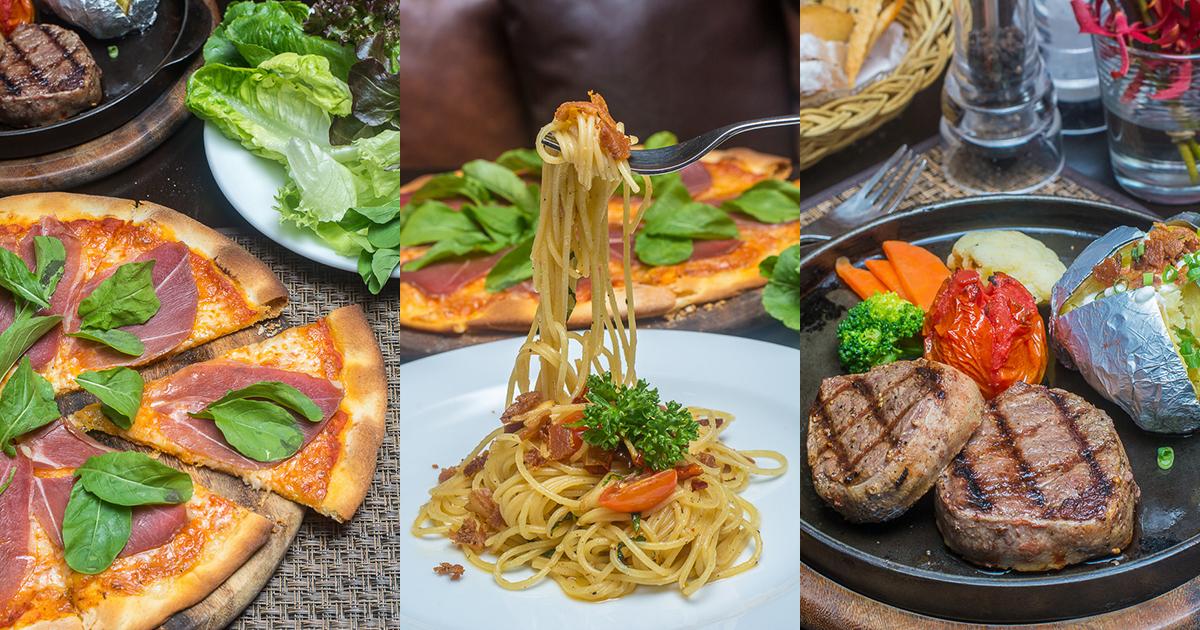สุดยอดเนื้อสเต๊กชั้นดี สุกนอกฉ่ำใน พร้อมอีกหลากหลายเมนูสไตล์ยุโรป ที่ Kantary Hills, Chiang Mai