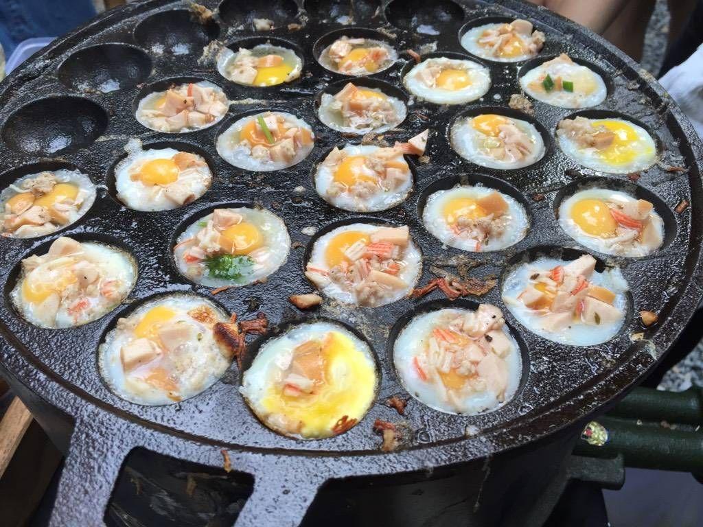 เมนูอาหารเช้าง่ายๆ ไข่กระทะแบบกิ๊บเก๋ มีให้กินแค่วันเสาร์เท่านั้นที่ Clong Wealth