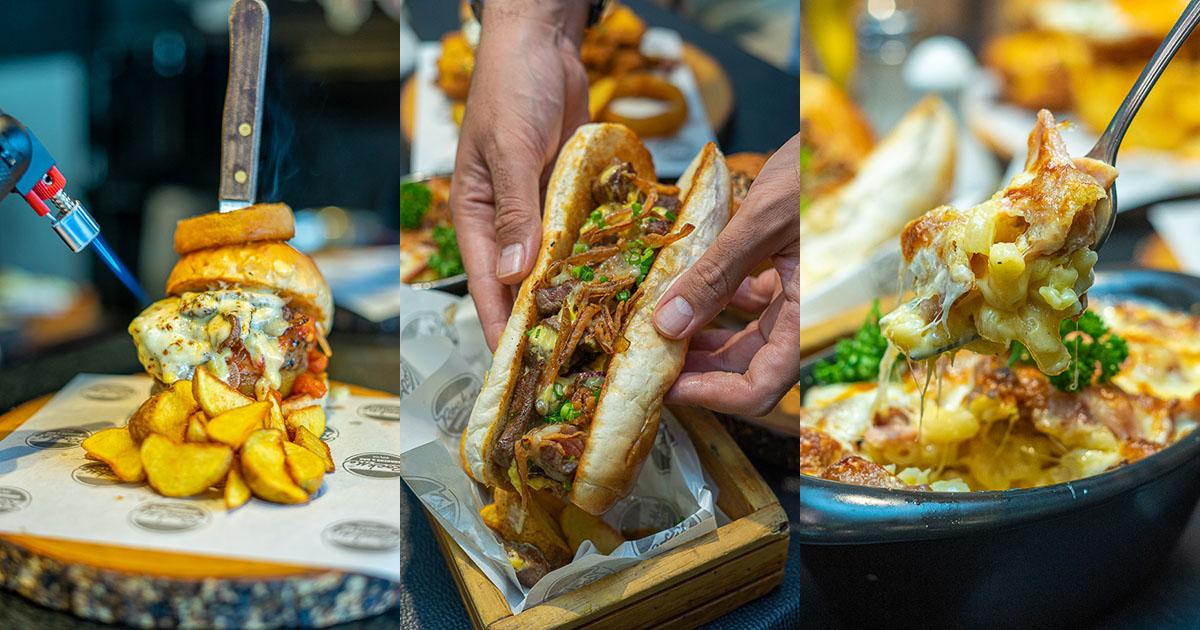 เต็มอกเต็มใจ กับเบอร์เกอร์ชิ้นหนา เนื้อเน้น ๆ ชีสตู้ม ๆ เบอร์เกอร์คุณภาพคับแก้วที่ Rock Me Burger & Bar
