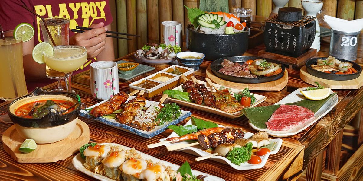 สัมผัสบรรยากาศญี่ปุ่นในไทยไปพลาง ๆ ดื่มด่ำกับอาหาร เครื่องดื่มสไตล์อิซากายะที่ Izakaya Okada