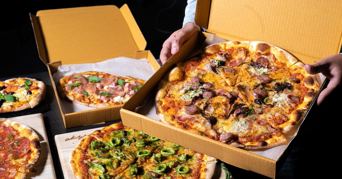 พิซซ่าหน้าเต็ม ชีสตู้ม ๆ รสชาติอิตาเลียนแท้ สั่งเลย LINEMAN ลด 50% ที่ ITALICS Restaurant